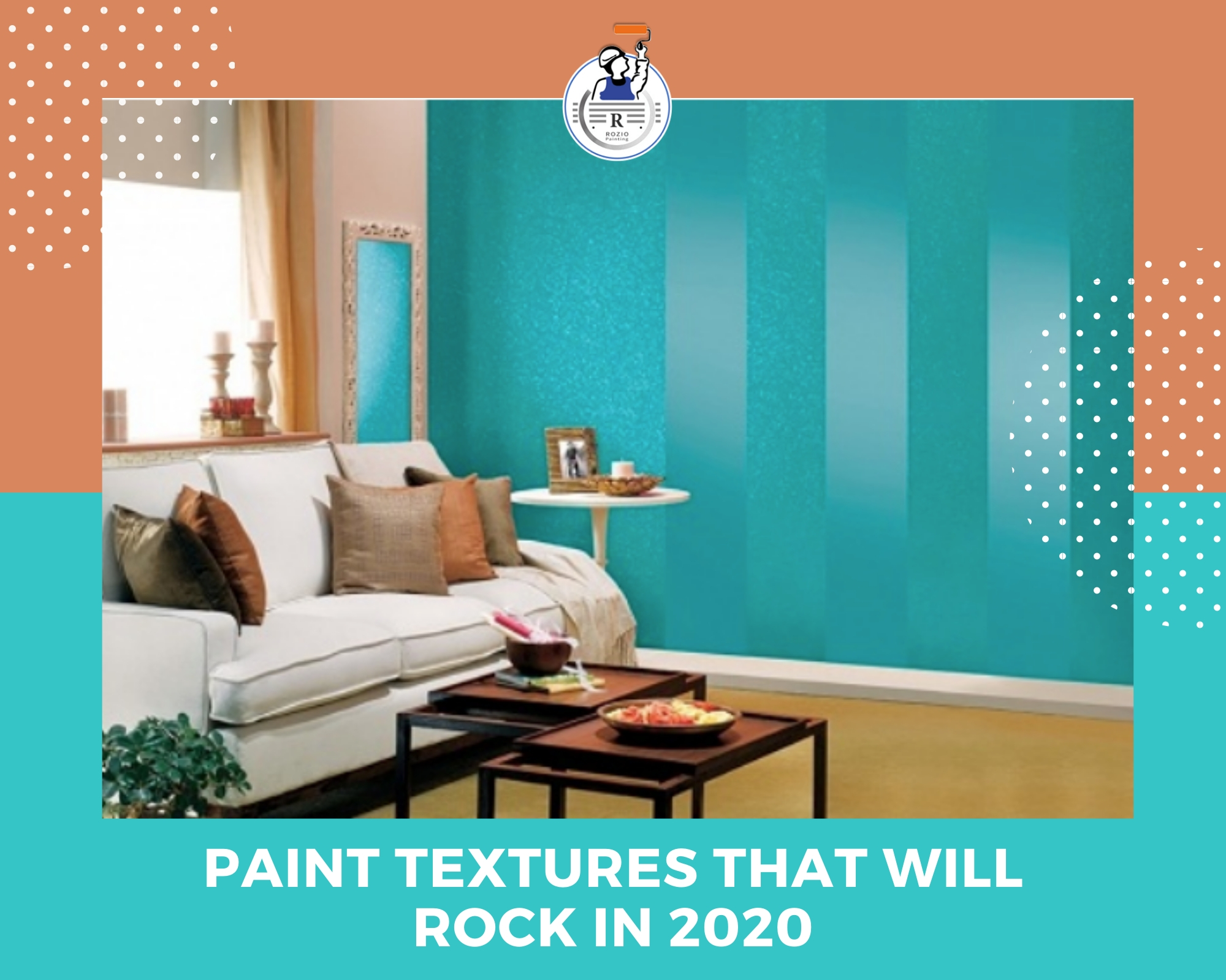 Paint texture that will rock in 2020