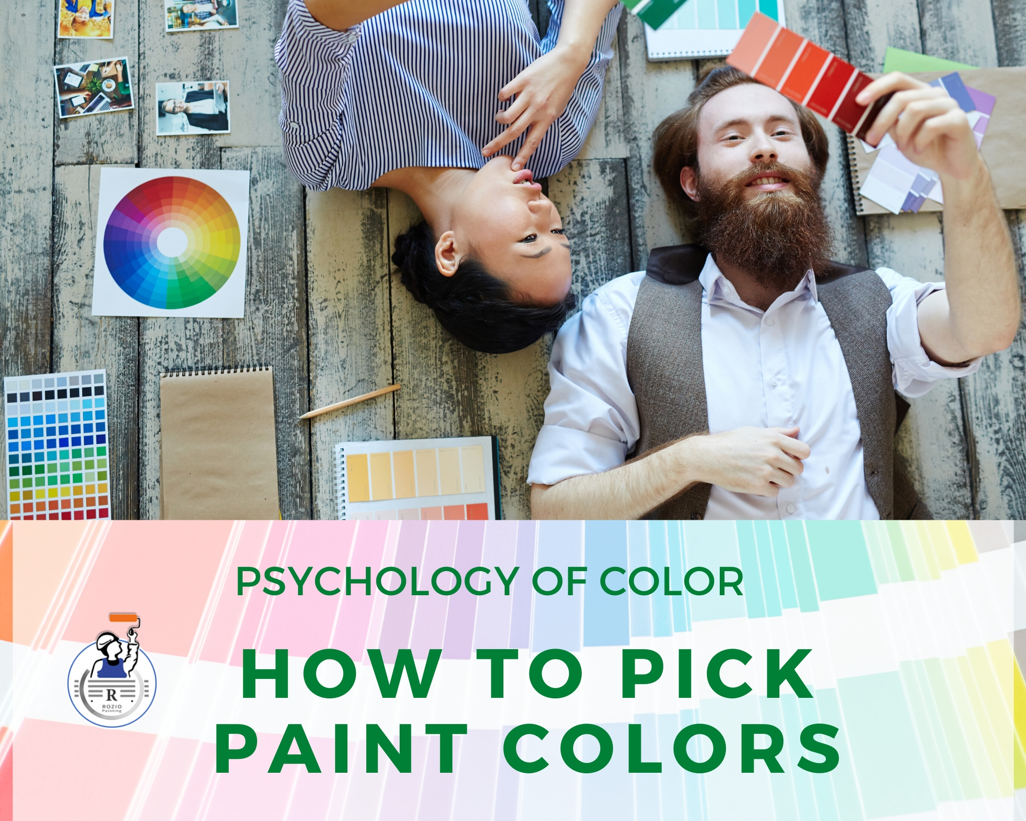 Psychology of Color: How to pick paint colors