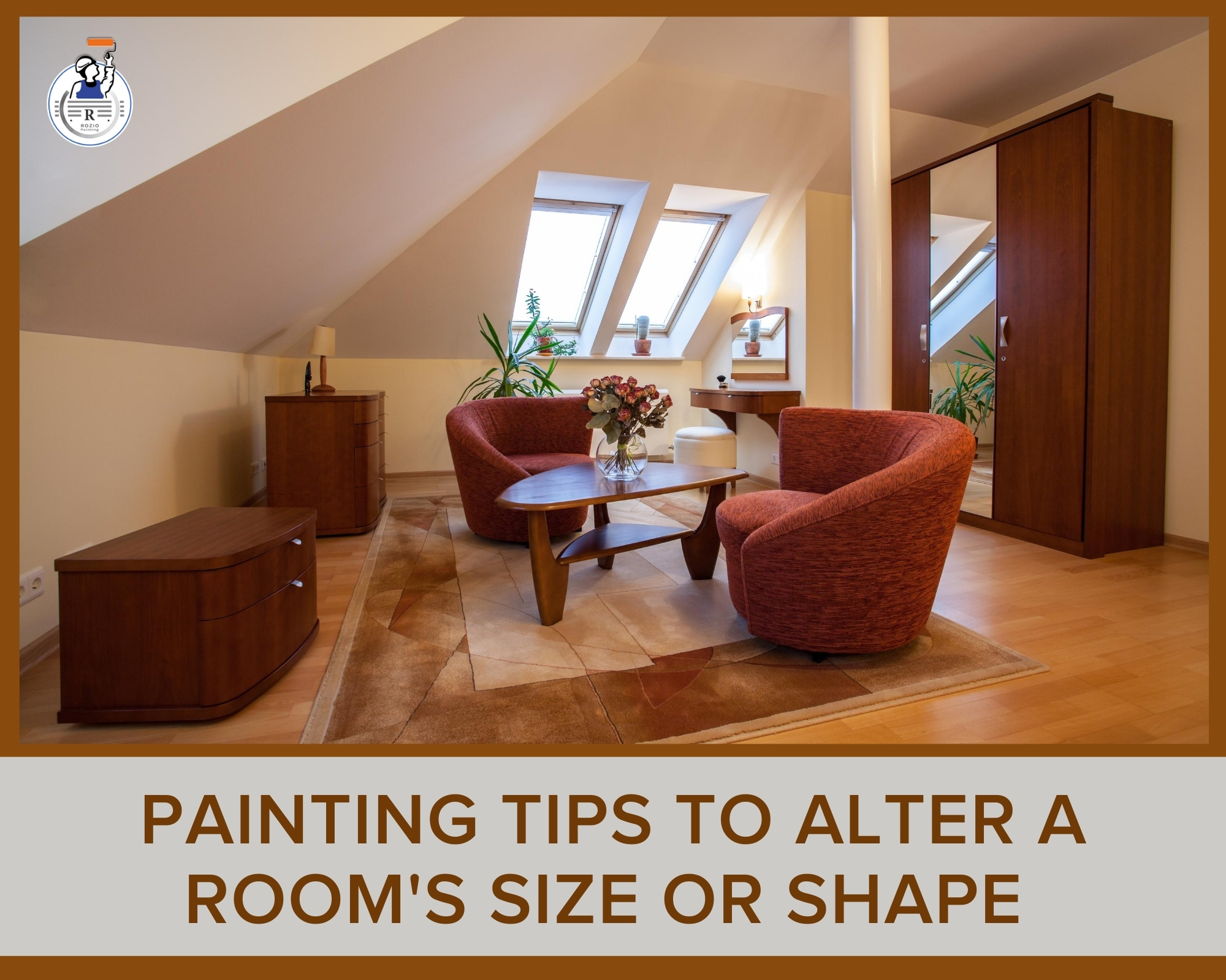 Painting Tips To Alter A Room's Size Or Shape