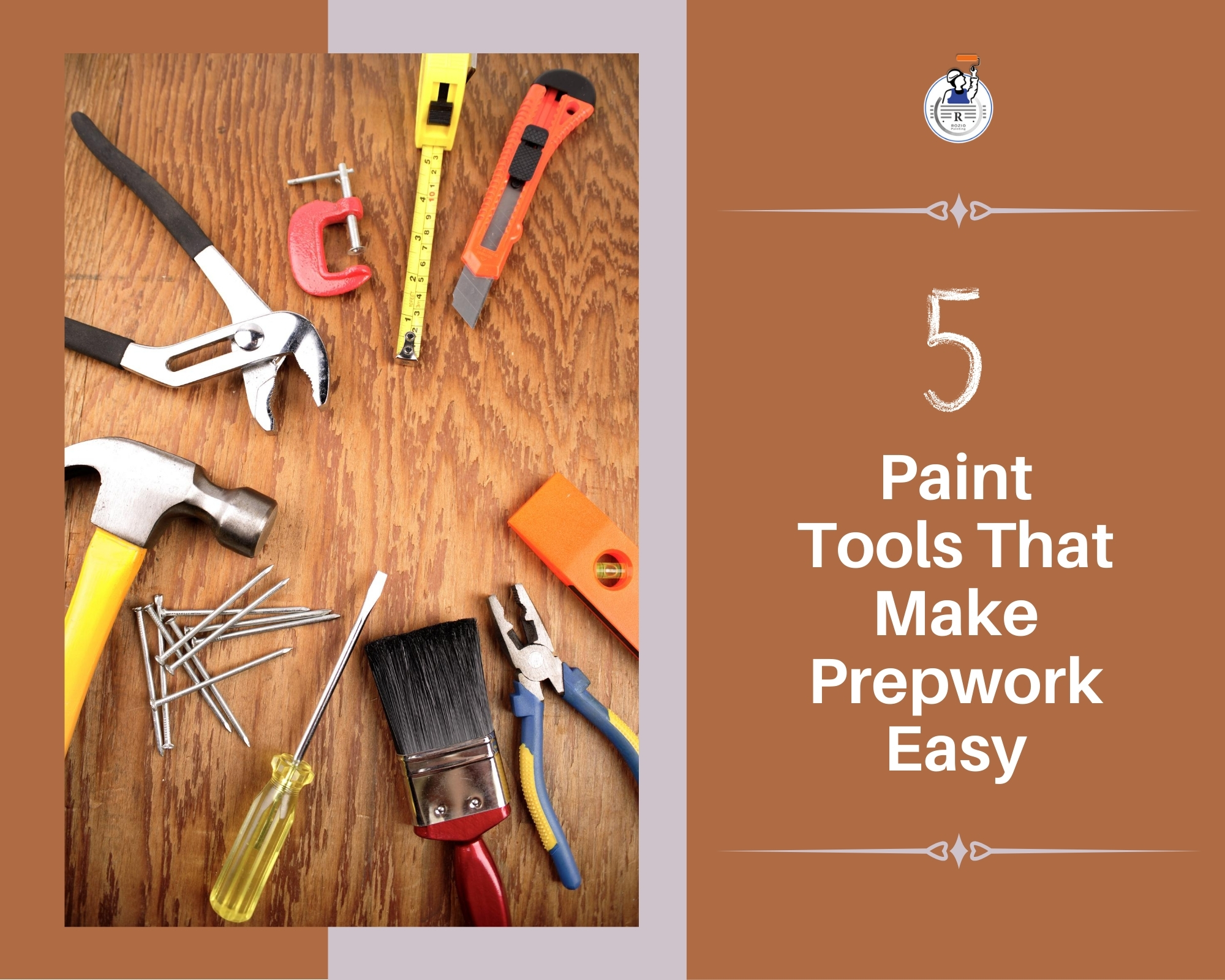 5‌ ‌Paint‌ ‌Tools‌ ‌That‌ ‌Make‌ ‌Prepwork‌ ‌Easy‌