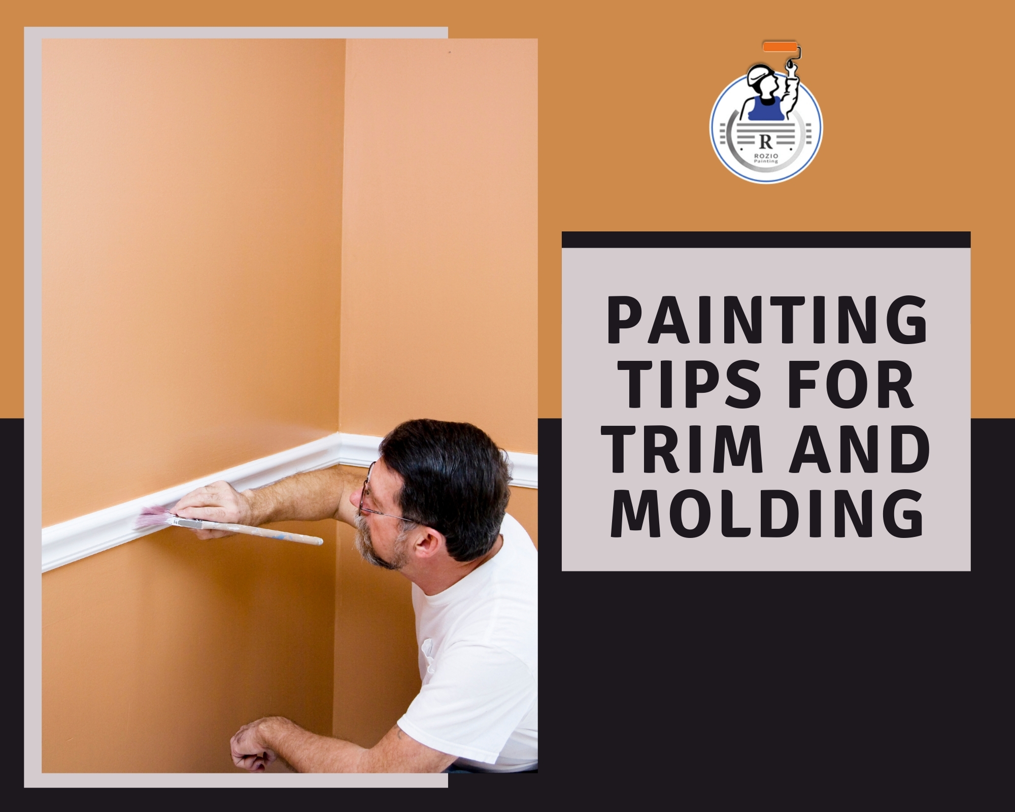 Painting Tips for Trim and Molding