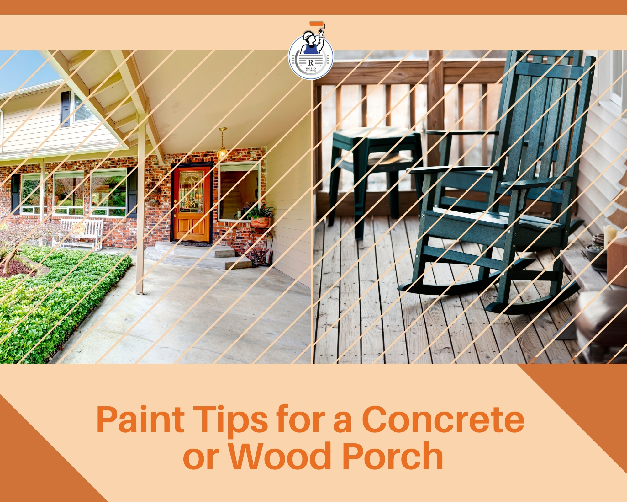 Paint Tips for a Concrete or Wood Porch