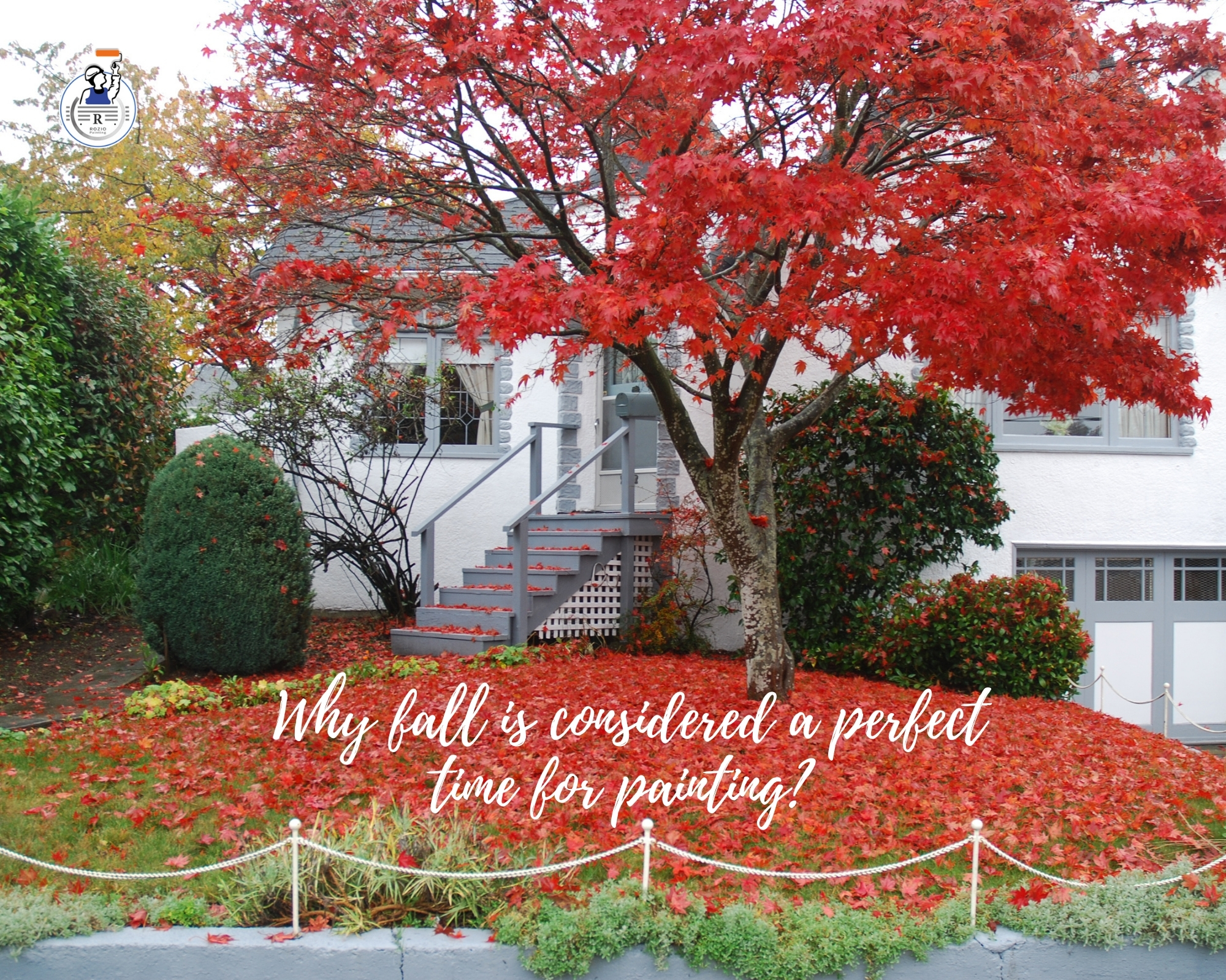 Why fall is considered a perfect time for painting