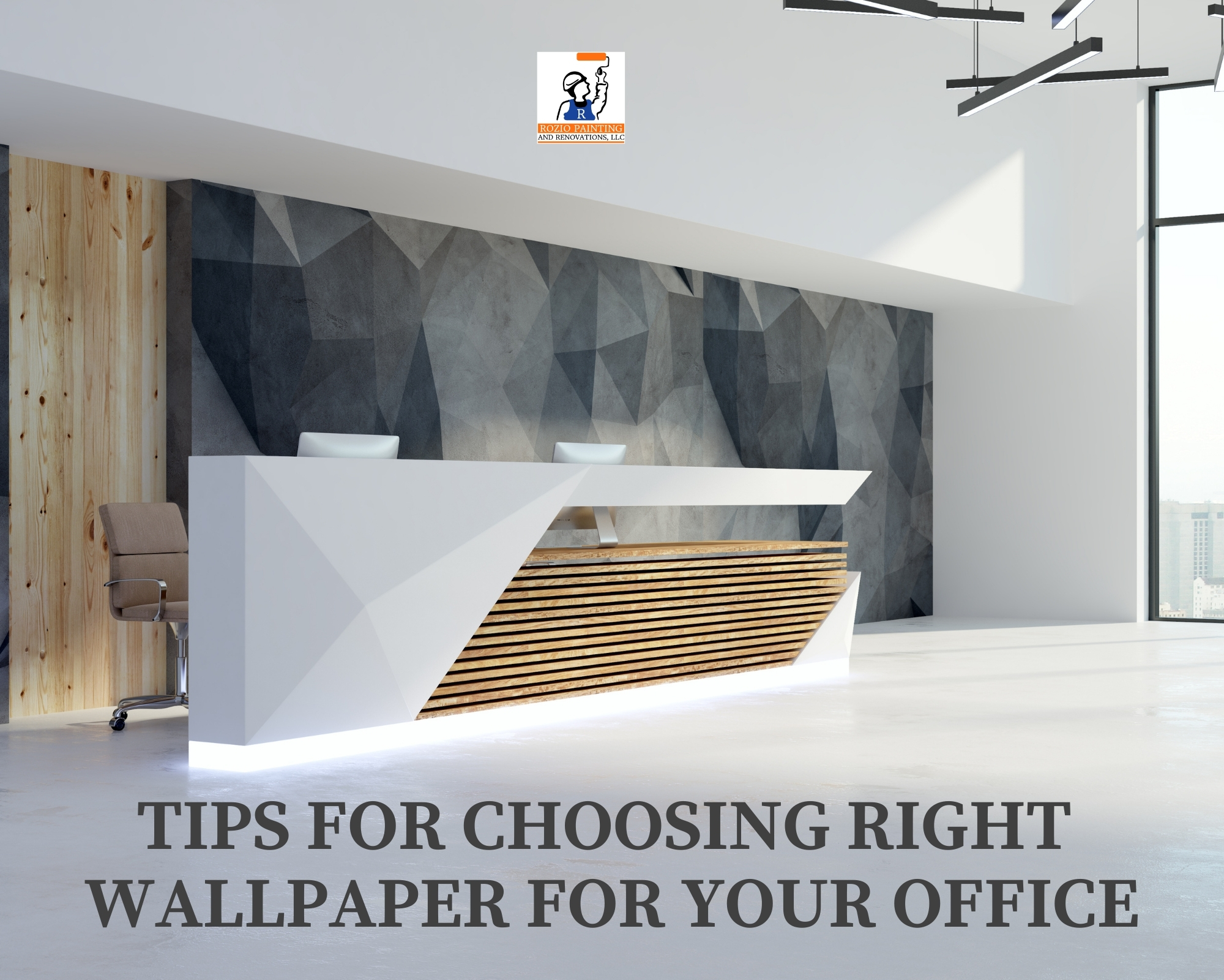 Tips for choosing right wallpaper for your office