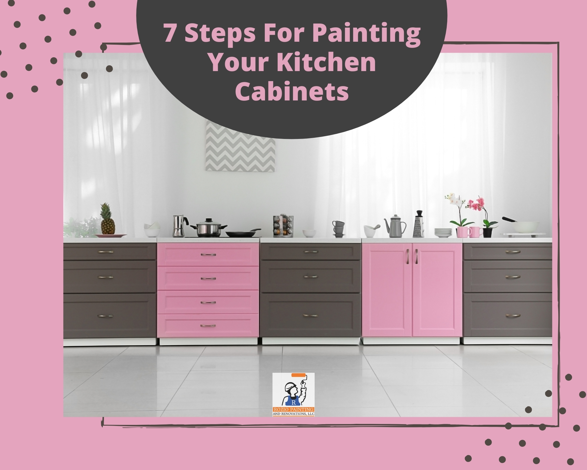 7 Steps for Painting Your Kitchen Cabinets