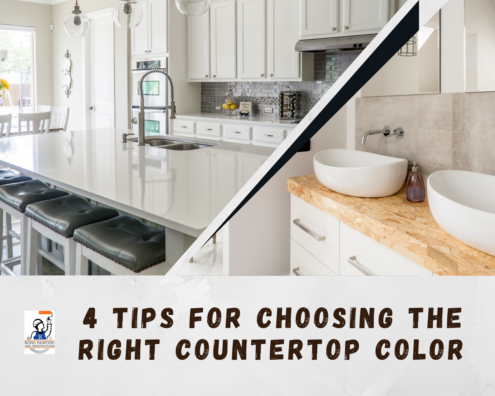 4 Tips for Choosing Countertop Color