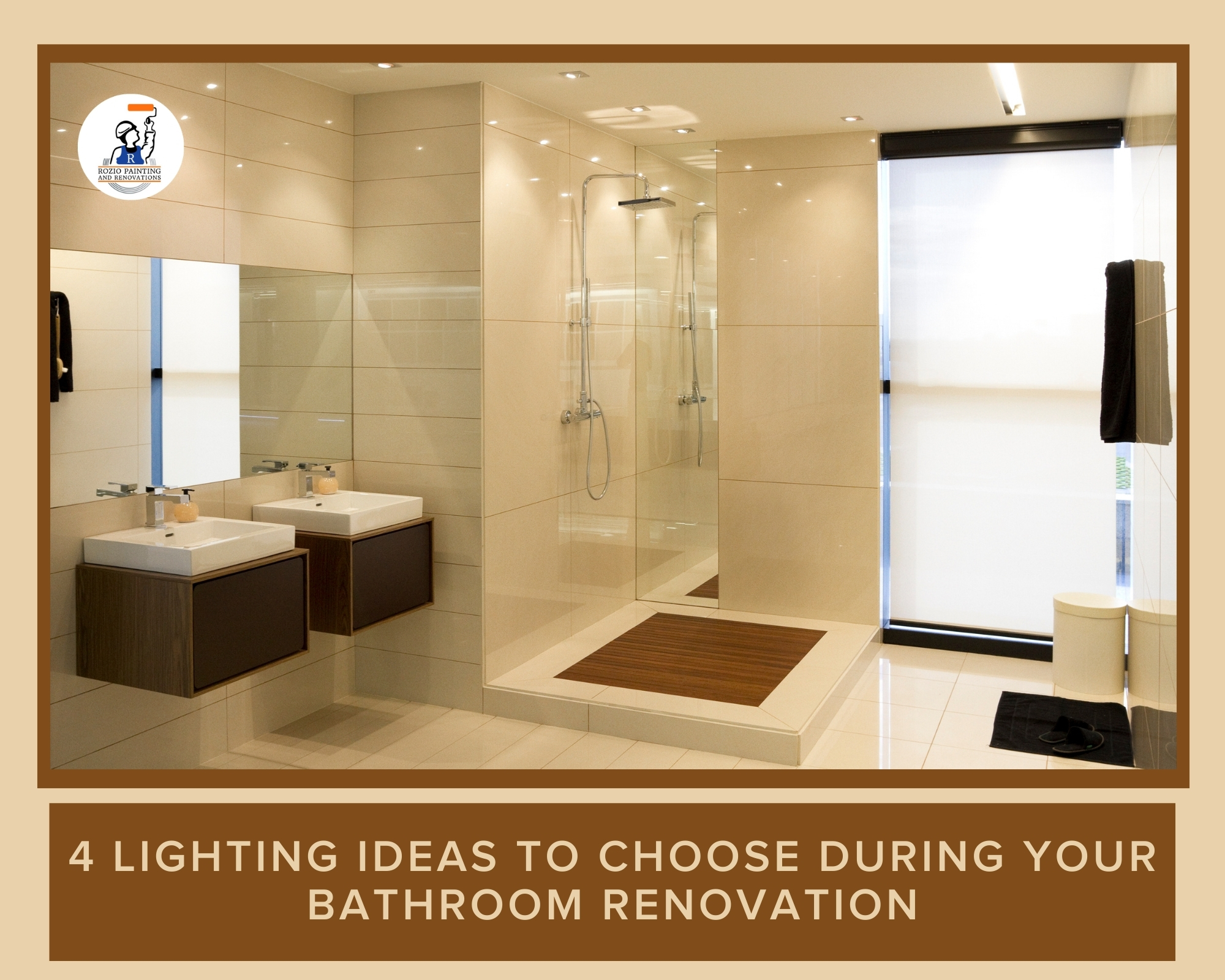 4 Lighting Ideas to Choose During Your Bathroom Renovation