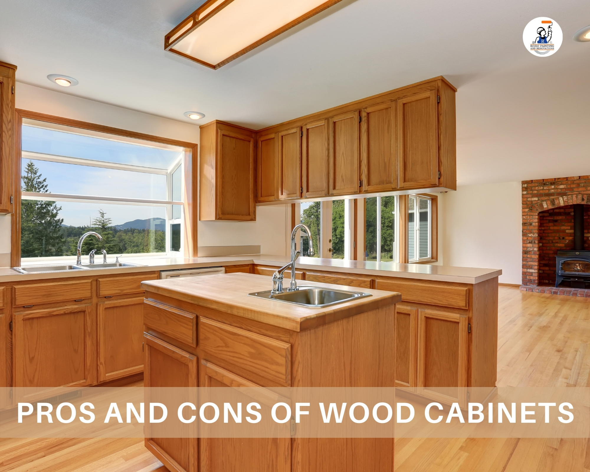 Pros and Cons of Wood Cabinets