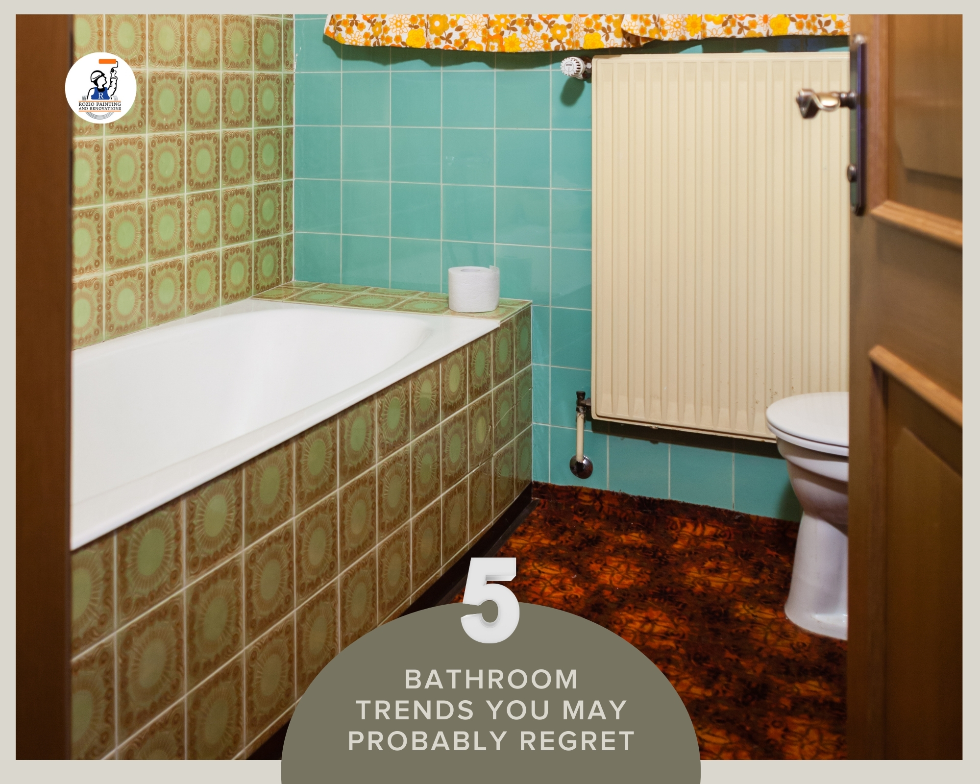 5 Bathroom Trends You May Probably Regret
