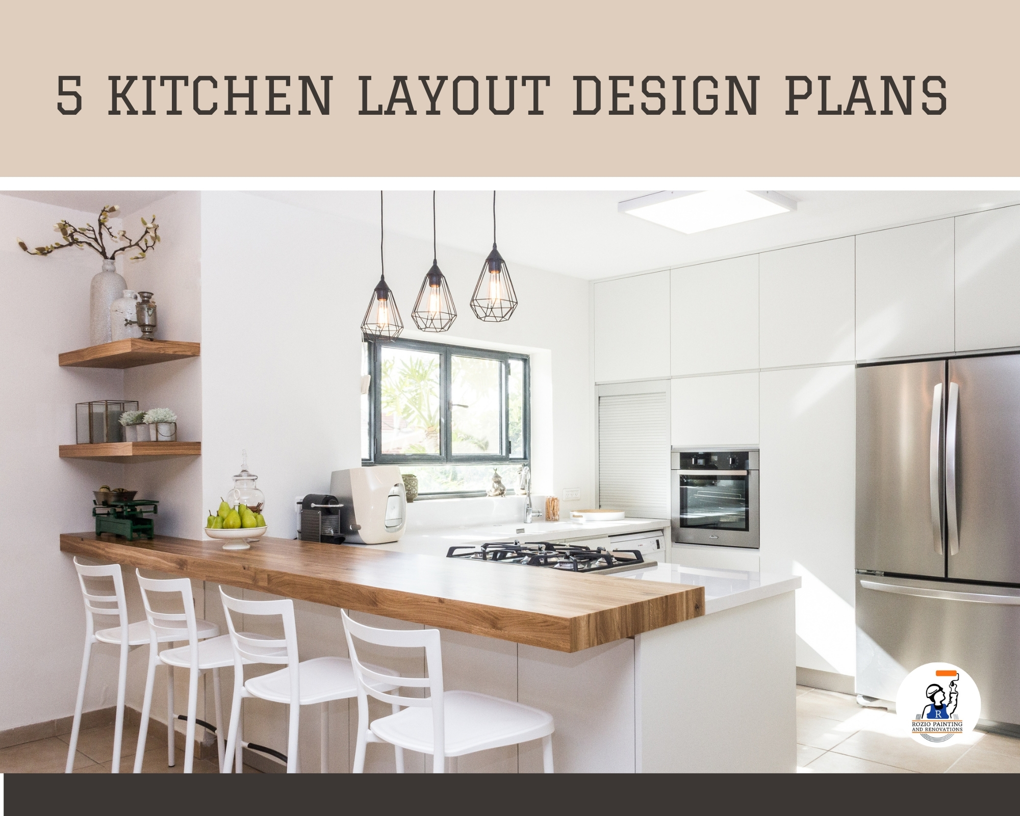 5 Kitchen Layout Plans