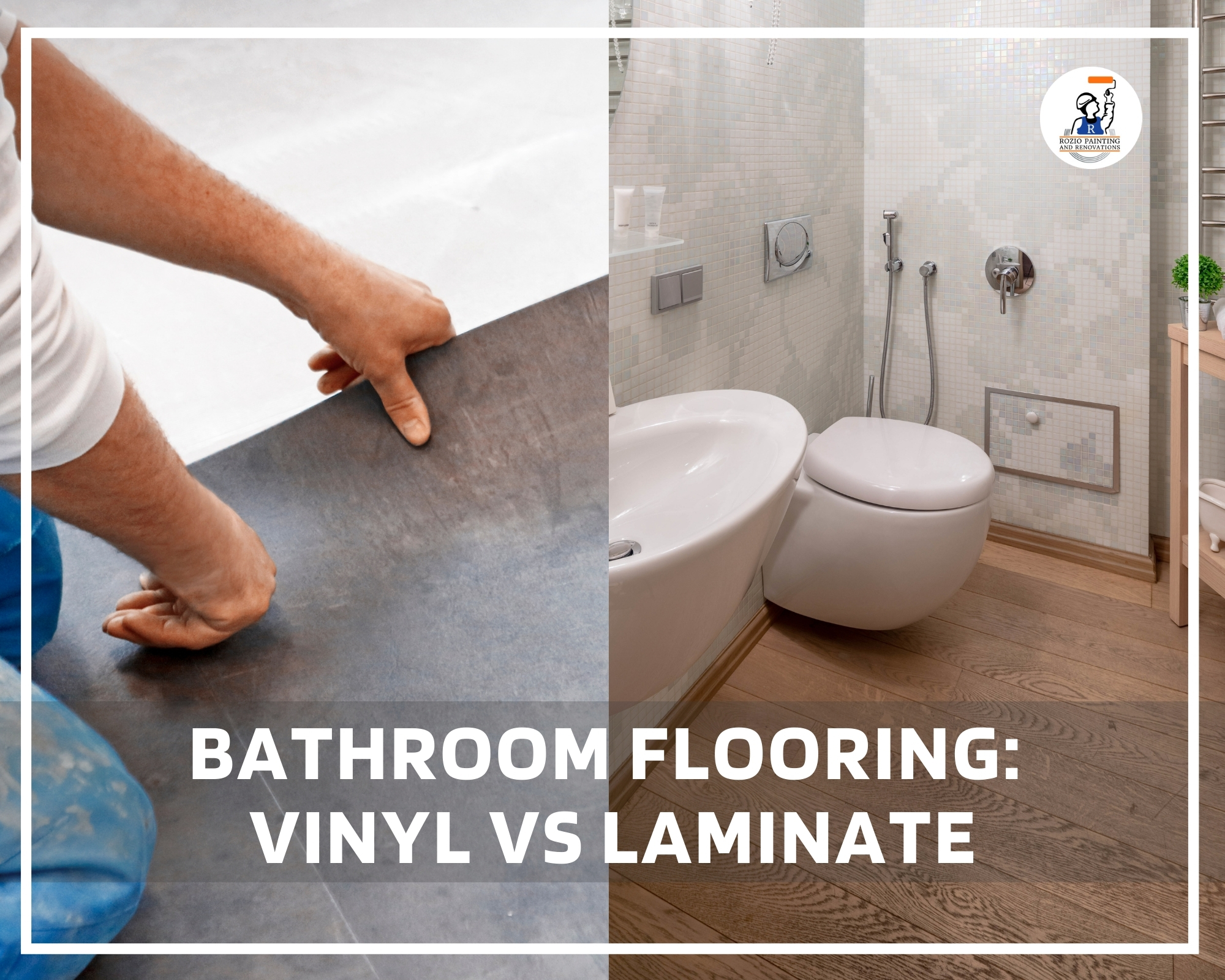 Bathroom flooring: Vinyl Vs Laminate