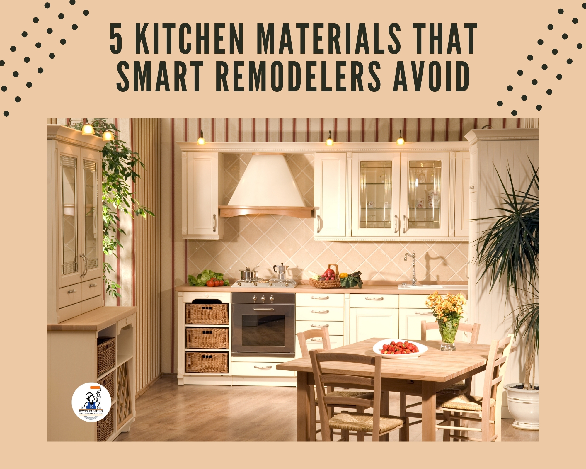 5 Kitchen Materials That Smart Remodelers Avoid