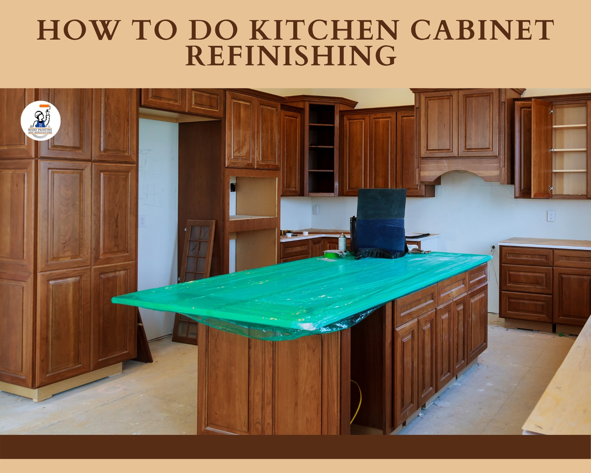 How to do Kitchen Cabinet Refinishing