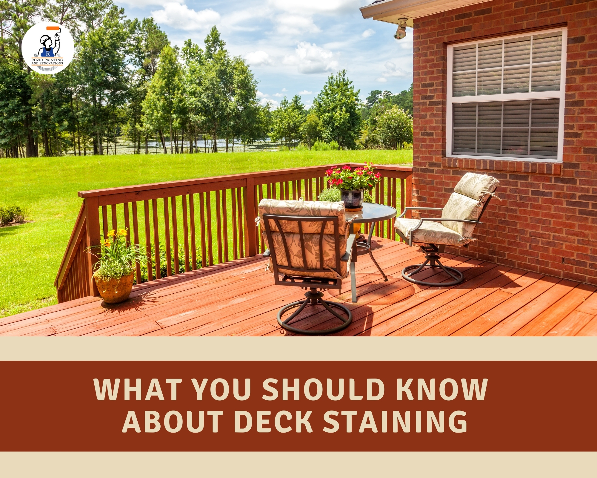 What You Should Know About Deck Staining