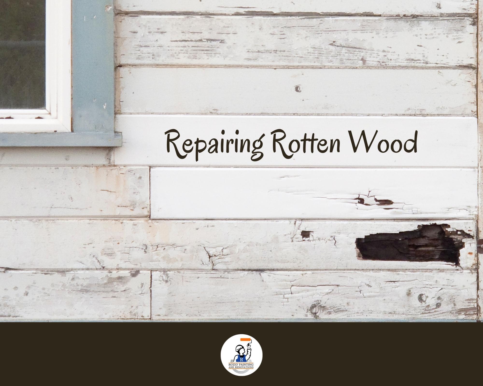 Repairing Rotten Wood