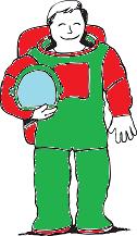Christmas SPACEMAN