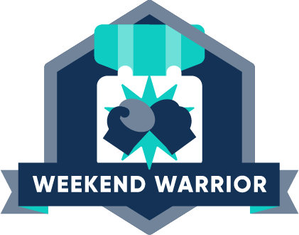 Weekend Warrior Award