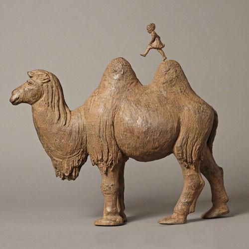 Sculpture réalisée par Sophie Verger