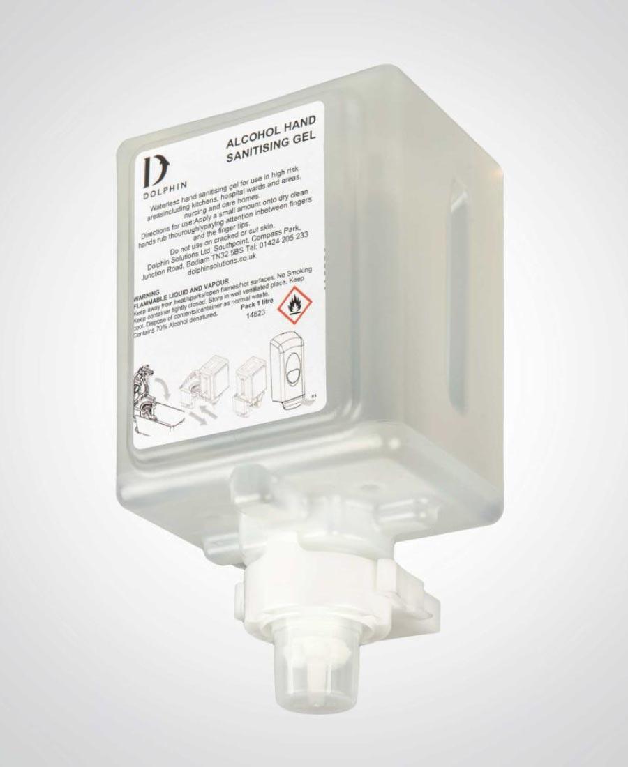 70% Alcohol Hand Sanitiser Cartridge 6x1Ltr