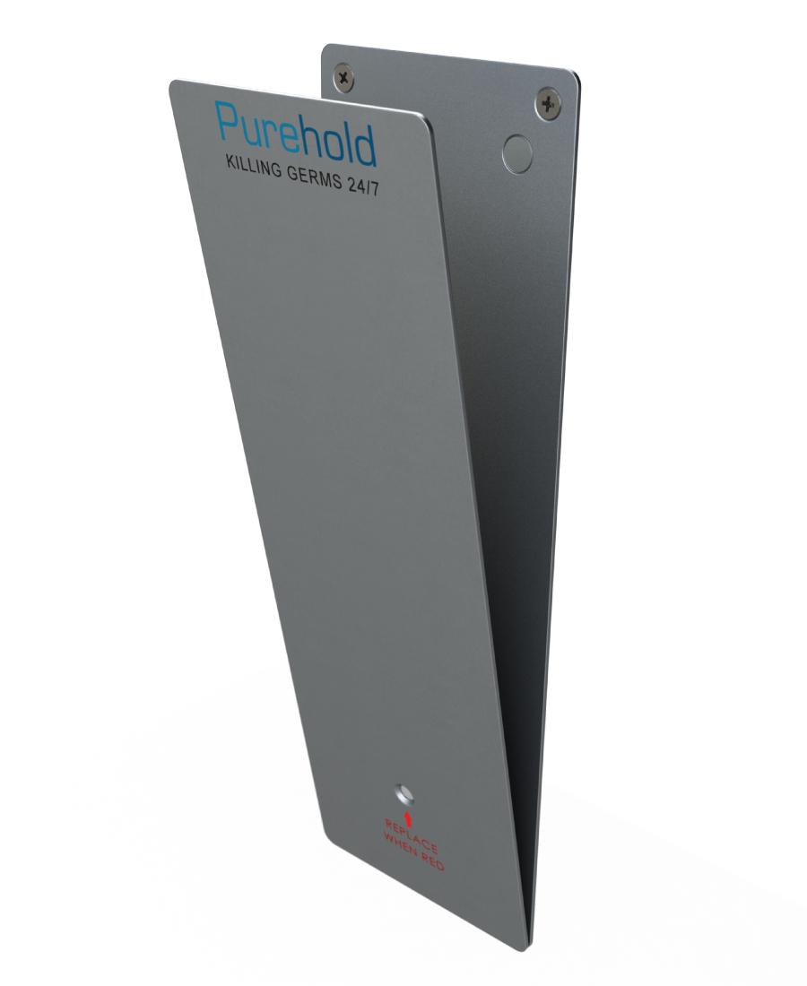 Purehold PUSH - Antibacterial Door Push Plate Starter Kit