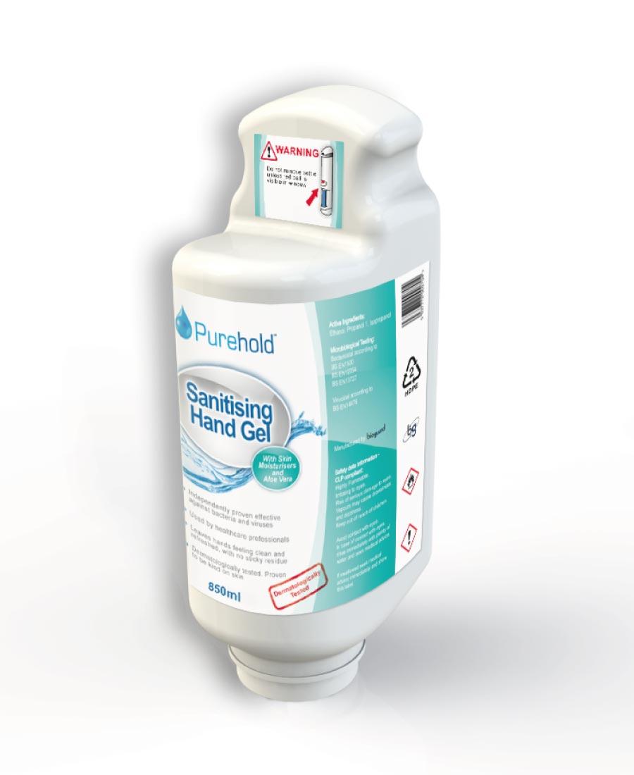 Purehold PRO - Box of Gel Refill Bottles
