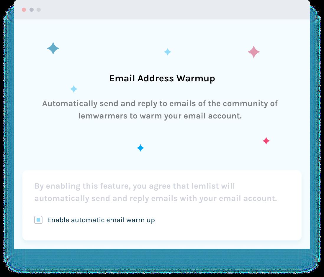 Warm-up ton mailautomatiquement