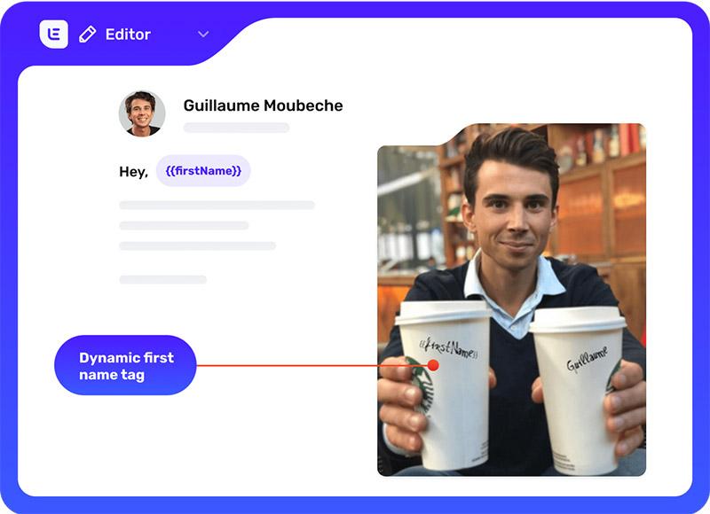 lemlist email personalization software