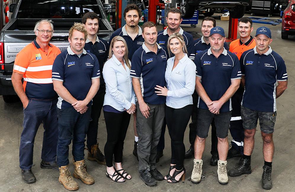 Lardner Automotive — Vehicle servicing team in Warragul