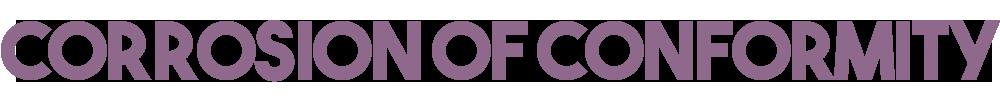 Corrosion of Conformity Logo