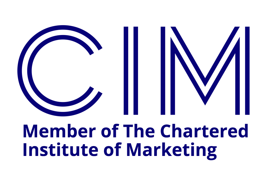 CIM member logo chartered institute of marketing