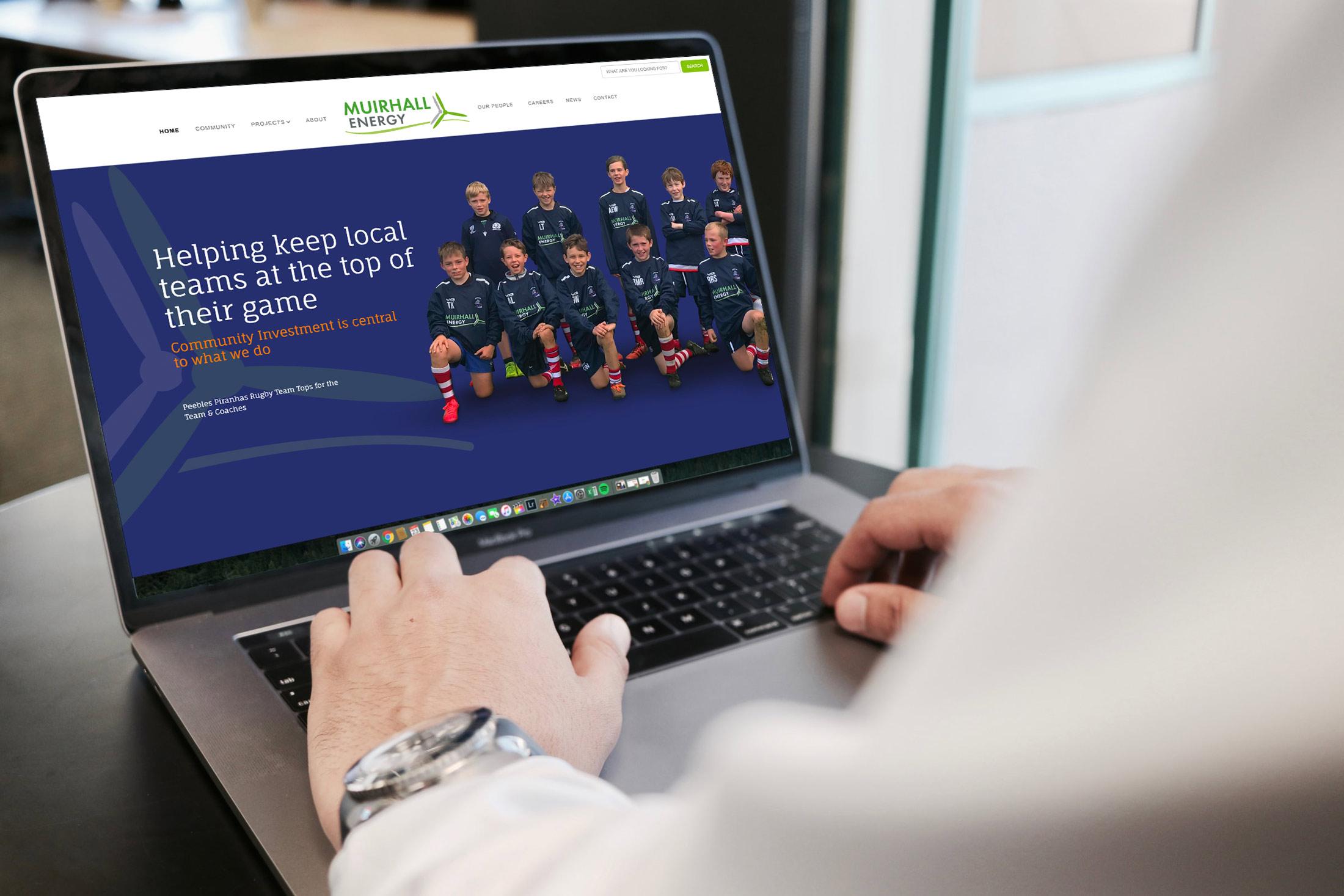 muirhall energy web design