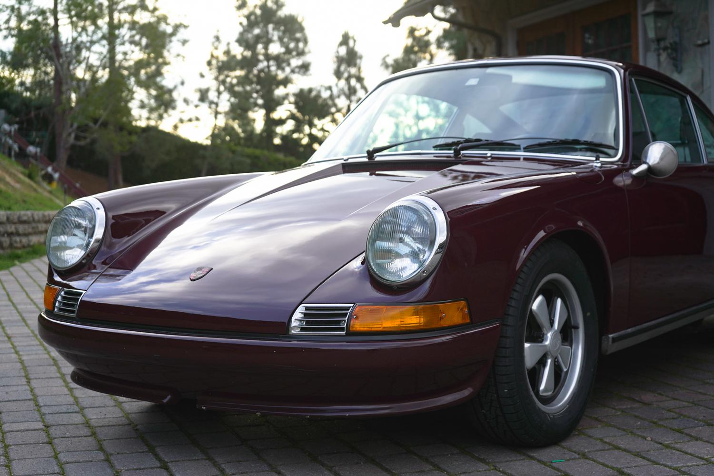 1971 911T Burgundy
