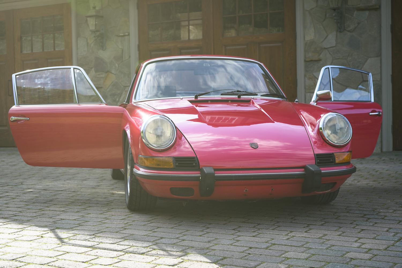 1973 Porsche 911t Raspberry