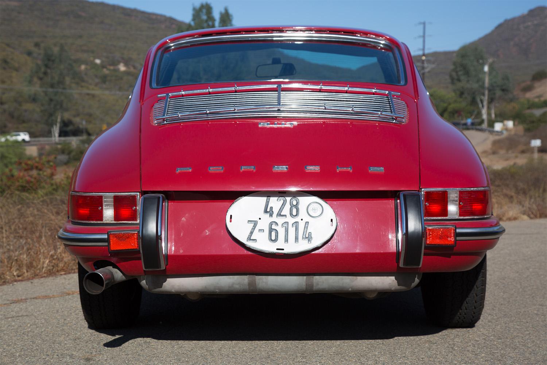 1969 Porsche 911T Red