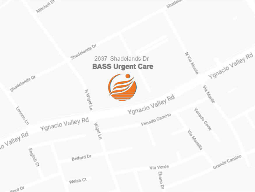 BASS Urgent Care in Walnut Creek located in Shadelands Drive