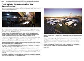 Scanvogn sikrer rammerne i katastrofeområder