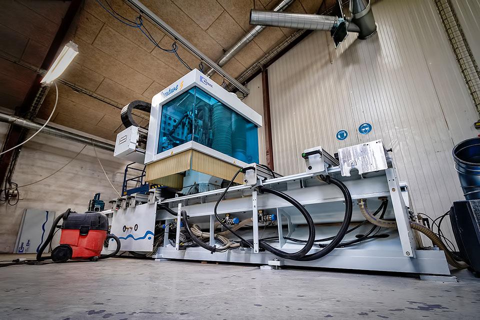 Ny CNC maskine