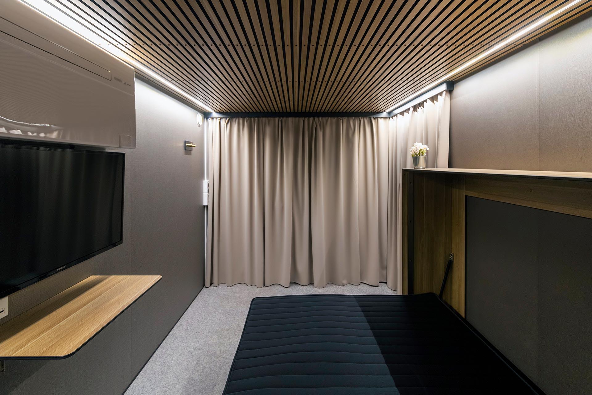 Hotelvogn soverum