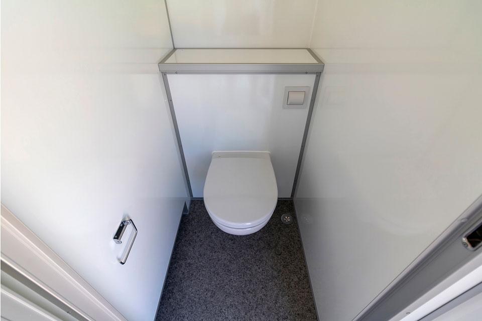 Toiletvogn 4 til 10 personer toilet