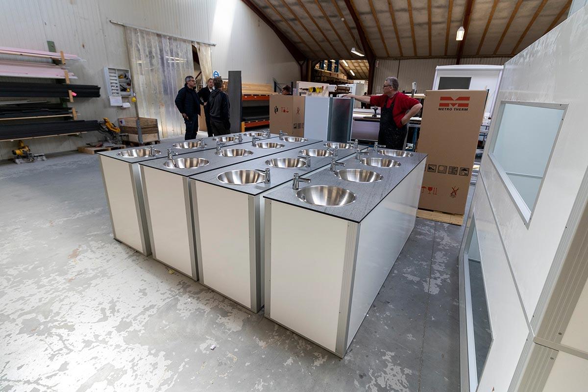 Mobile håndvaskestationer