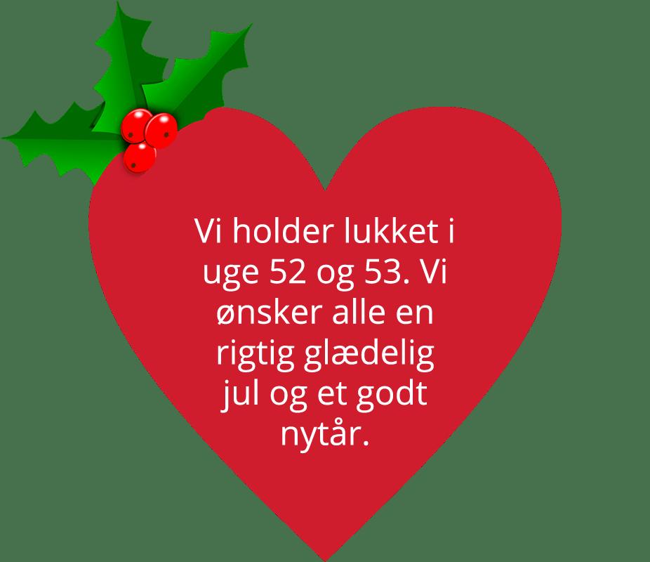 Information of julelukning
