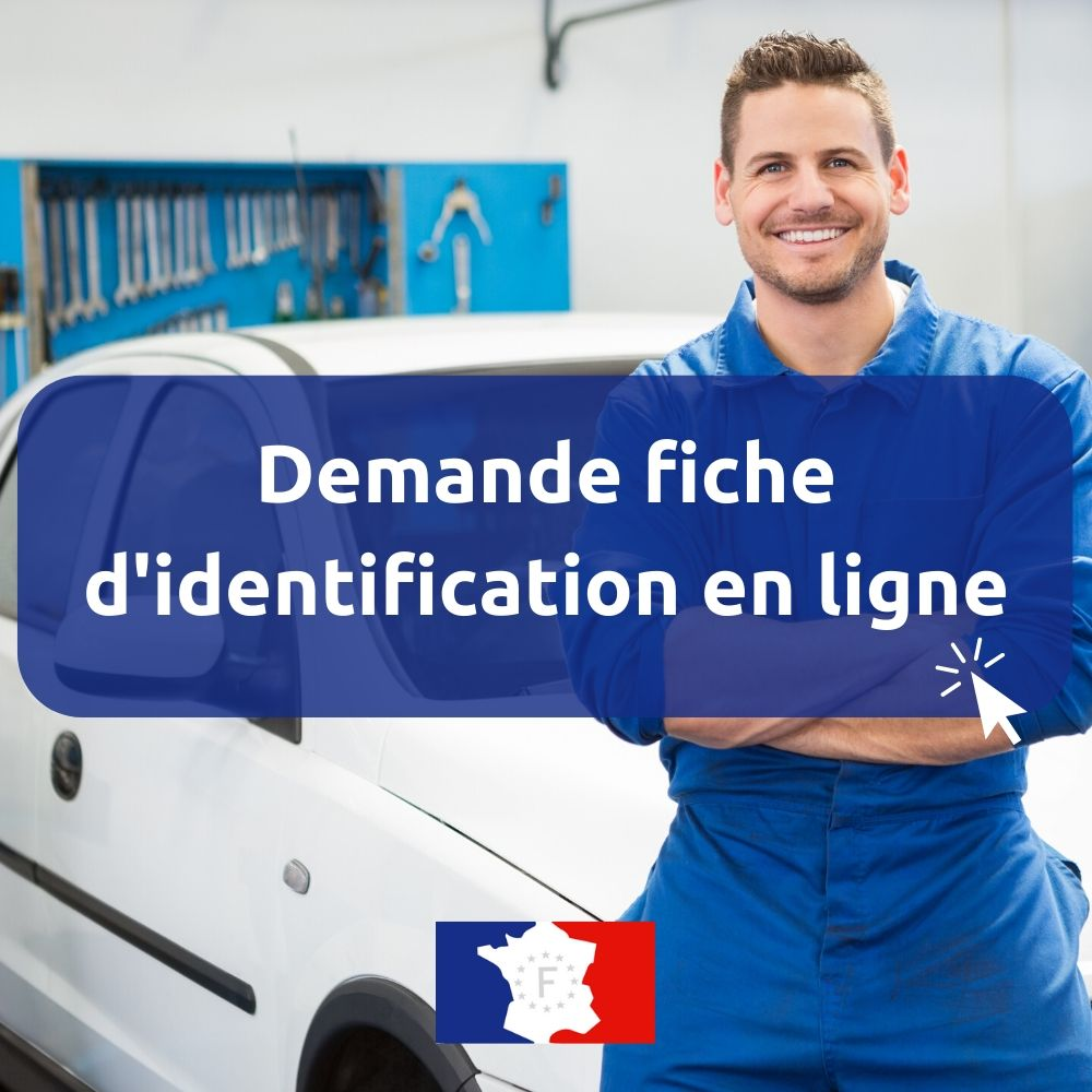 demande fiche identification véhicule en ligne
