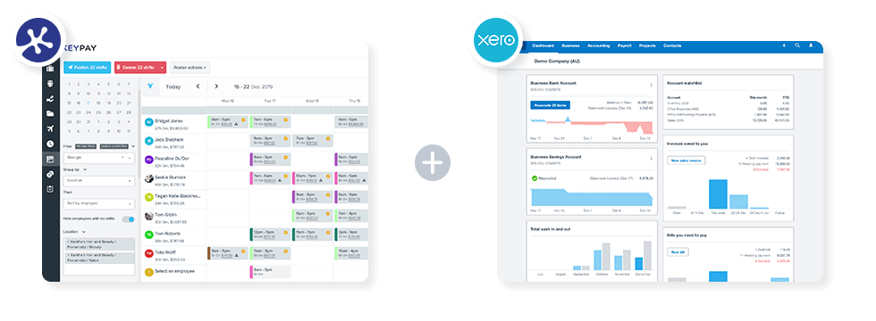 Xero and KeyPay Integration