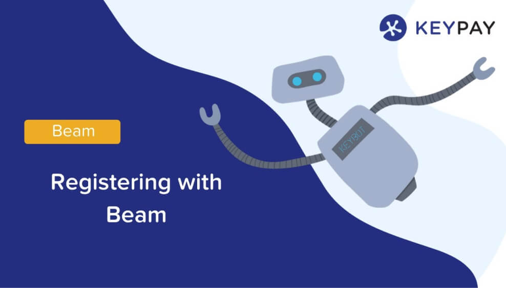 Registering with Beam super clearing house
