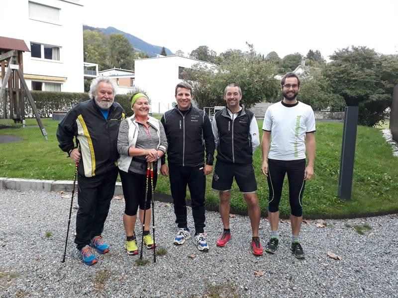Trainerteam in Satteins