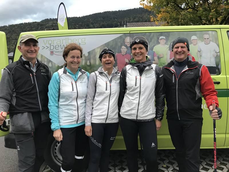 Trainerteam in Bezau