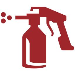 sprøytepistol ikon