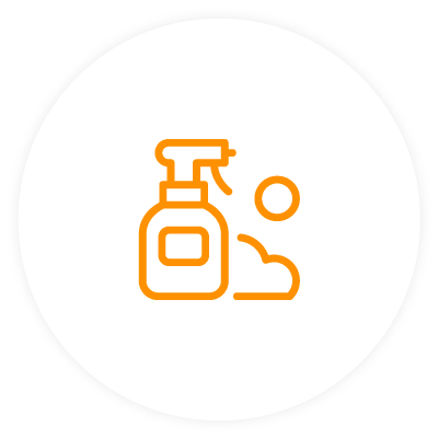 Additional cleaning services icon