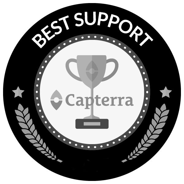 Best support award for project management software