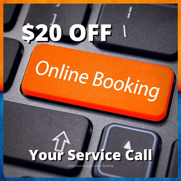 $20 off Online Booking
